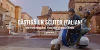 Castiga un scuter italian legendar si multe alte premii