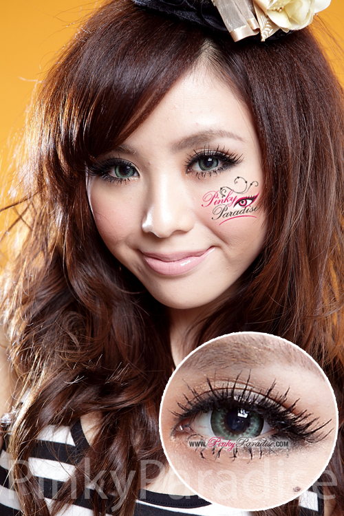 G&G Max Pure Green Circle Lenses (Colored Contacts)