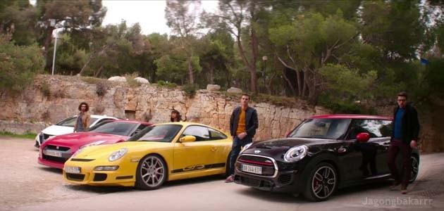 Mereka sudah mencuri berbagai mobil mewah dan mobil langka di seluruh dunia Sinopsis Film : Overdrive (2017) - curi mobil langka
