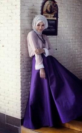 Baju Muslim Zaskia Adya Mecca Hijab Batik