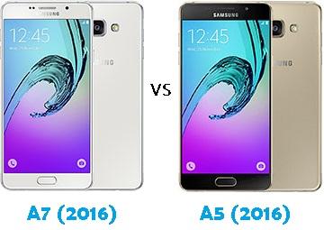 Samsung Galaxy A7 (2016) vs A5 (2016) Harga dan Spesifikasi