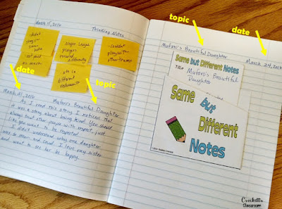 Do you love using student learning journals as much as I do?  I'm sharing tips and ideas for helping students organize their responses so you can get the most from your journals.  This is a must read!