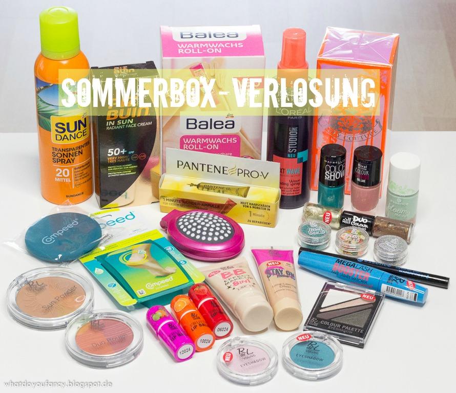 Gewinnt eine prall gefüllte Sommerbox!