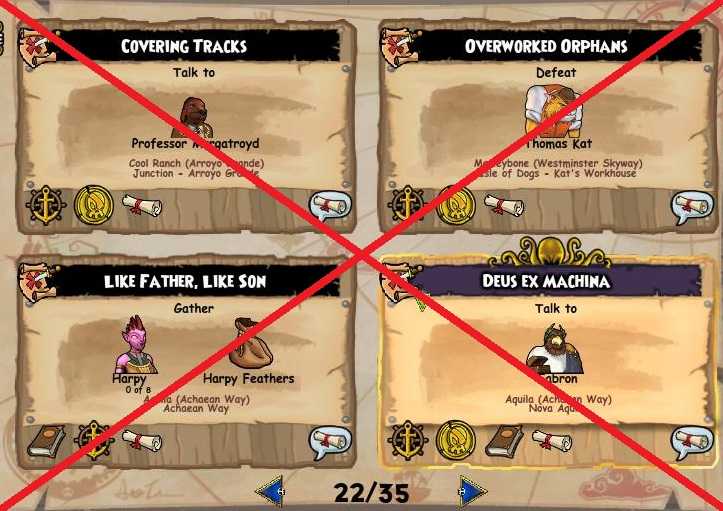 Pirate101 Challenge #10: No Side Quests ~ Secrets of the Spiral