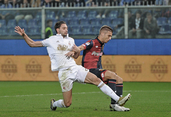 Hasil Serie A 26 November, Genoa 3-0 AC Milan
