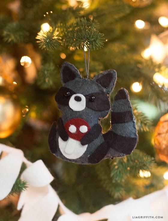I Love Kawaii Felt Animal Gift Toppers Or Ornaments