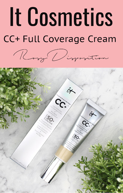 It Cosmetics CC+ Color Correcting Full Coverage Cream fair review