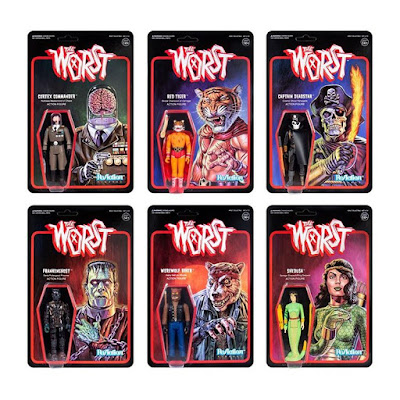 The Worst ReAction Series 2 Action Figures by Super7