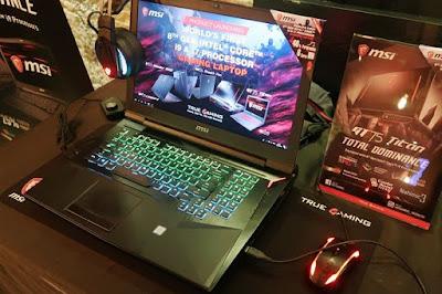 Laptop Gaming MSI Core i7