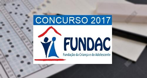 concurso Fundac PB 2017