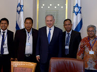 Diam-Diam Wartawan Senior Indonesia Bertemu Perdana Menteri Israel