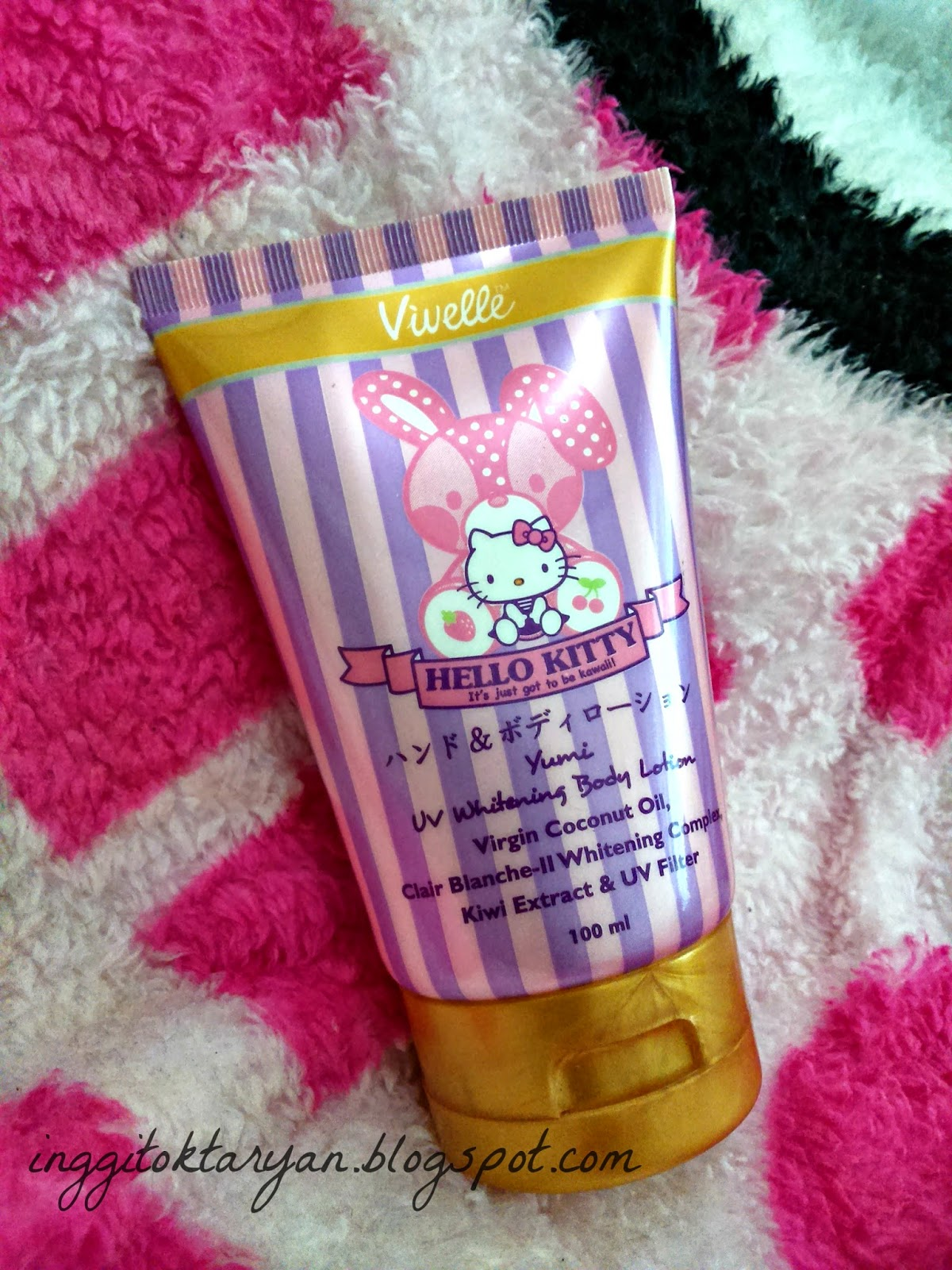 Review Vivelle Hello Kitty Yumi Uv Whitening Body Lotion Hello
