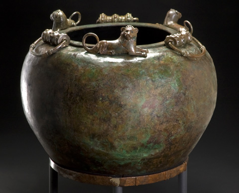 Cauldron from the Hochdorf burial