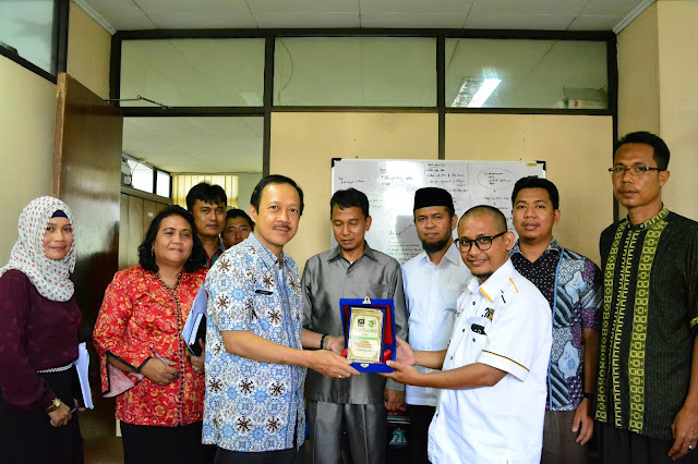 Audiensi Ke BLH, Bidang Ekuintek-LH PKS Kota Medan Bahas Masalah Sampah