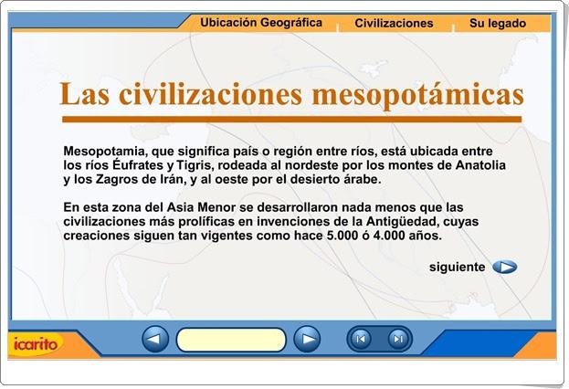 """""""Las civilizaciones mesopotámicas"""" (Historia de Educación Secundaria)"""