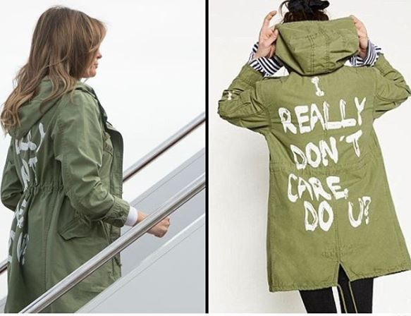 Americans blast Melania Trump for wearing a controversial 'I don't care' jacket to visit immigrants at the Texas border