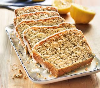 Lemon and poppy cake recipe