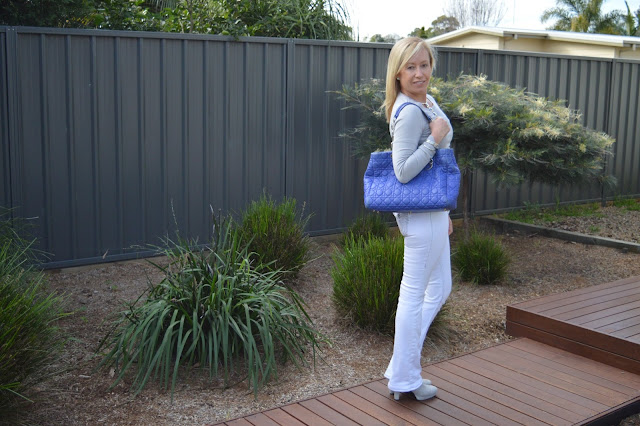 Sydney Fashion Hunter - The Wednesday Pants #40 - Silver Slicker