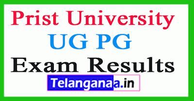 Prist University Exam Result