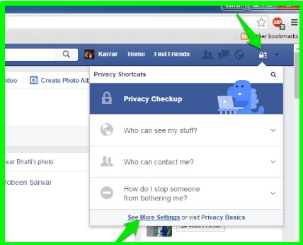 How to remove your facebook history