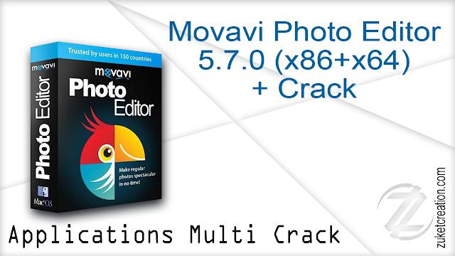 Movavi Photo Editor 5.7.0 (x86+x64) + Crack