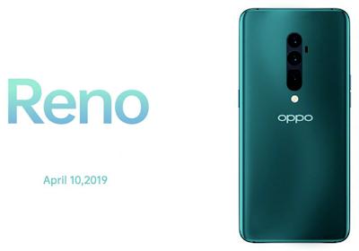 Harga dan Spesifikasi Oppo Reno Terbaru