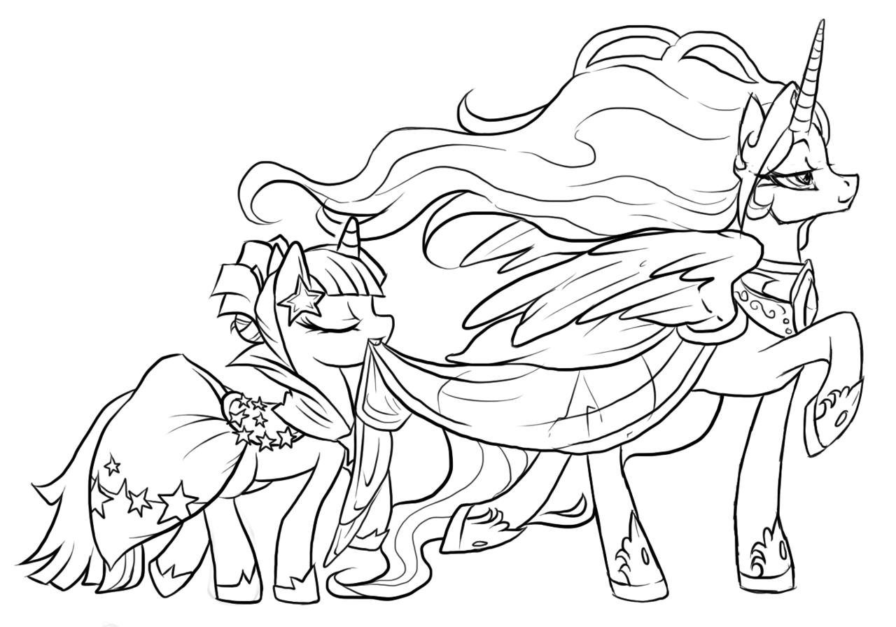 Coloring Pages My Little Pony Coloring Pages Free and