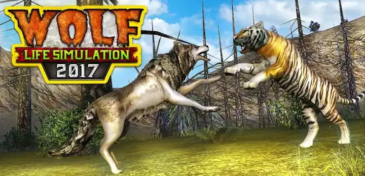 Image result for Wolf Life Simulation 2017 APK