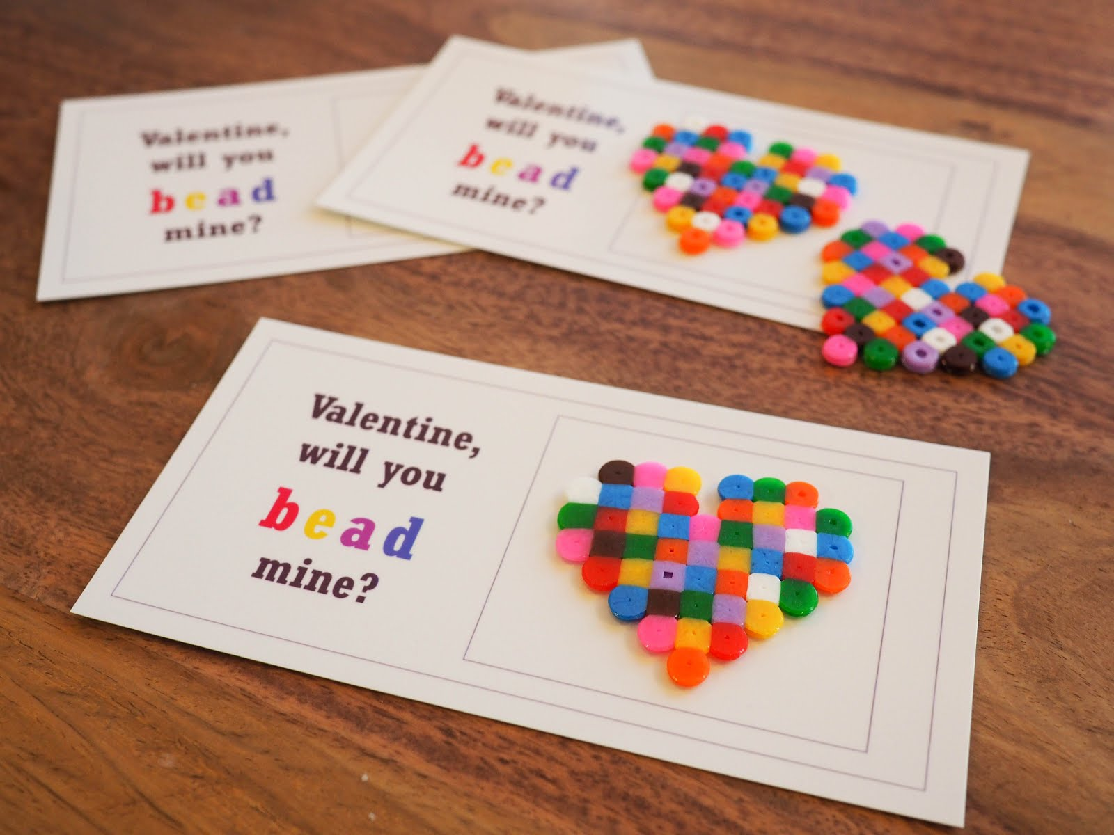 Valentine, Will You Bead Mine?