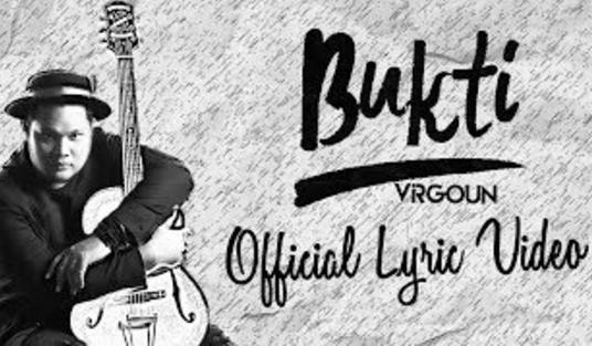 Lirik + Chord Dasar Kunci Gitar Bukti - Vigoun