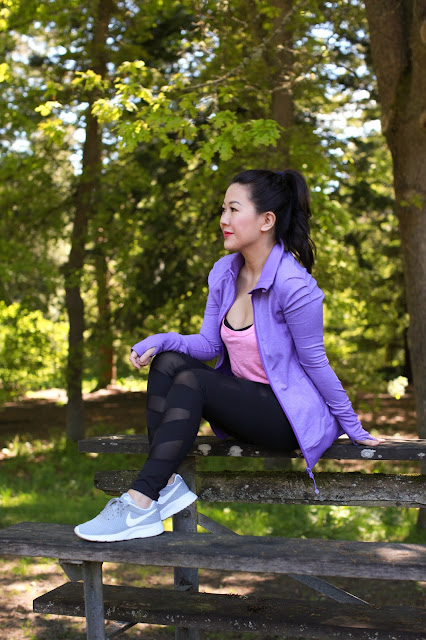 Workout style: Nike and Mesh Leggings