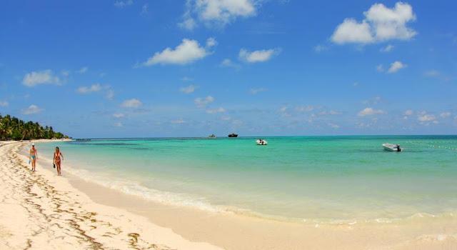 Praia Coco Plum em San Andrés