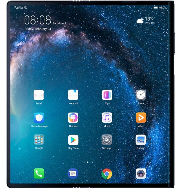 Huawei Announces Mate X with Foldable Display for Php136K