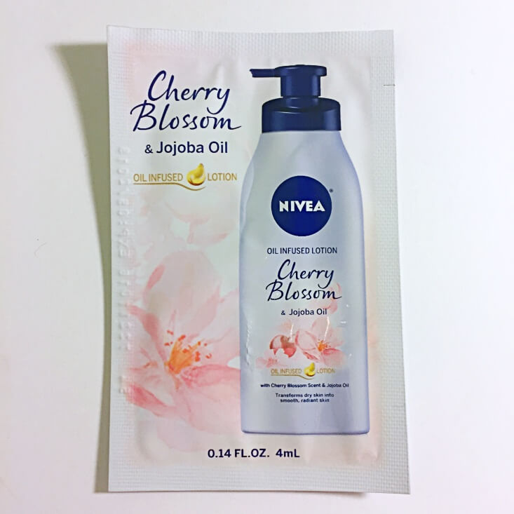 Nivea Oil Infused Lotion in Cherry Blossom & Jojoba Oil