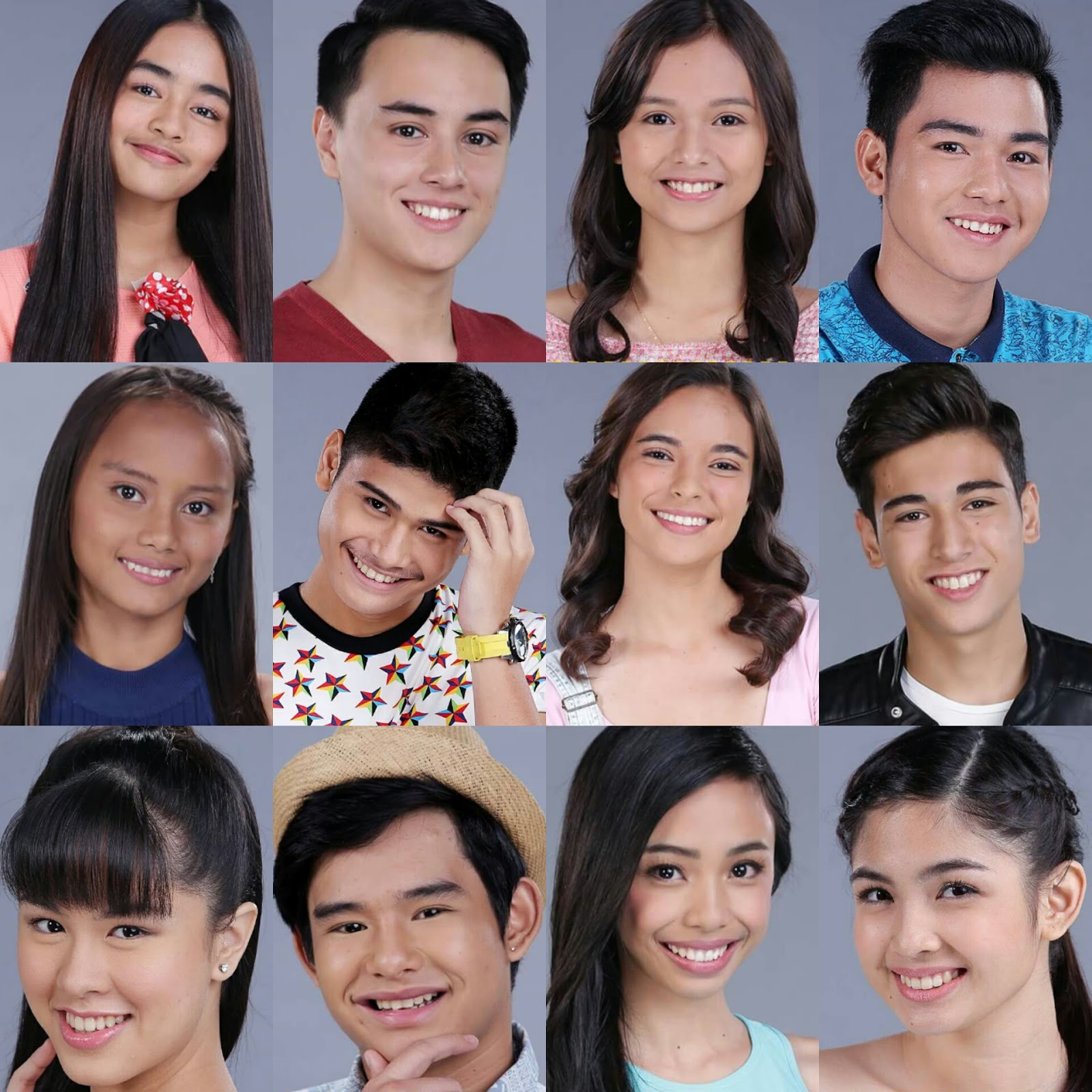 PBB Lucky Season 7 teen housemates