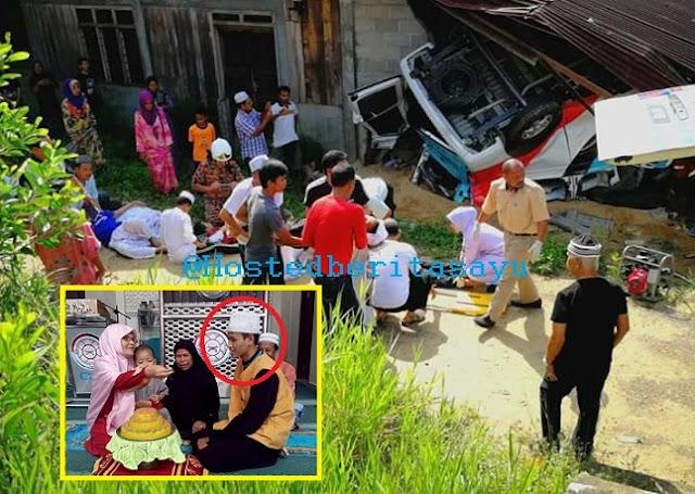 SAYU !! Al fatihah untuk adik ku Hafiz.. Dia antara 6 pelajar Tahfiz maut Van dinaiki rempuh rumah (5 Gambar)
