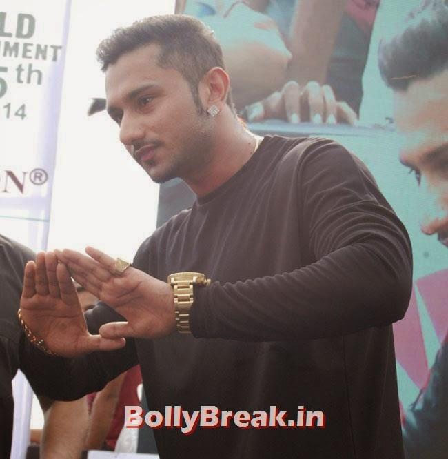 Yo Yo Honey Singh, Dia & Ruby Bhatia at World Environment Day Celebrations 2014