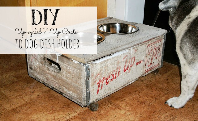 Up-cycled soda crate