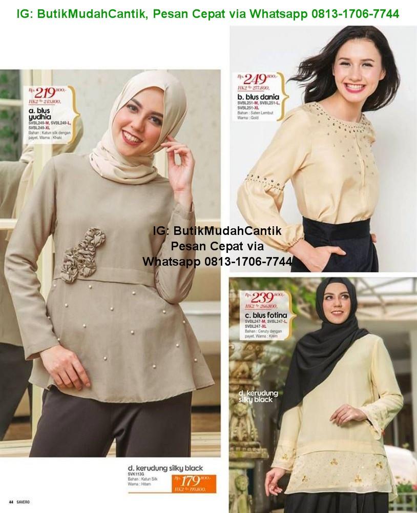 GAMIS KANTOR - Baju Kerja Muslim - Savero Fashion by Rika. WhatsApp