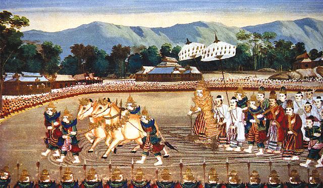 King at historic Bagan
