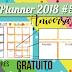 Planner 2018 #5: Aniversários (gratuito para download)