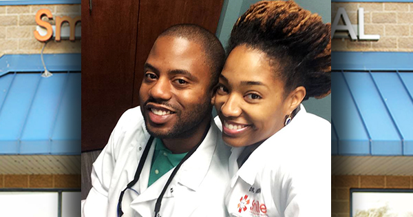 Dr. Keith Robinson and Dr. Ashley Robinson, founders of The Smile Company