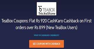teabox-cashkaro-offer