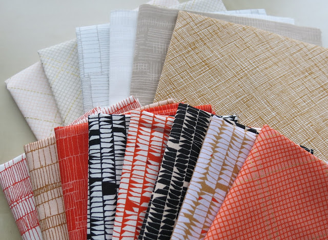 Carkai and Doe fabric collections by Carolyn Friedlander