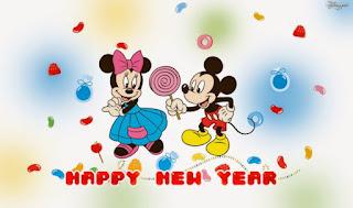 Gambar Selamat Tahun Kartun Disney Mickey Mouse