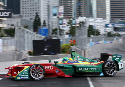 Tinuku Audi took over ABT Sportsline team to compete in Formula E