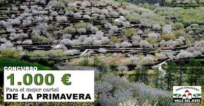 CONCURSO: 1000 Euros para el mejor cartel de la primavera
