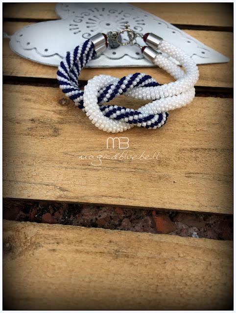 Horgolt karkötő