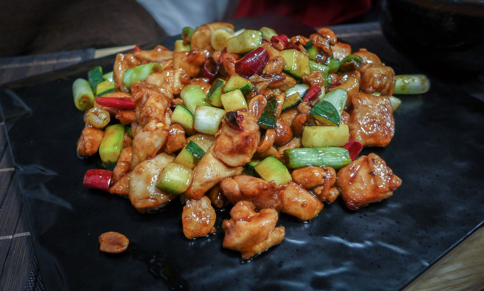 Gung Bao Chicken Recipe — Dishmaps