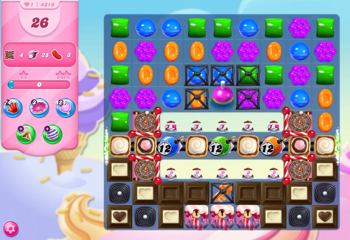 Candy Crush Saga level 4319